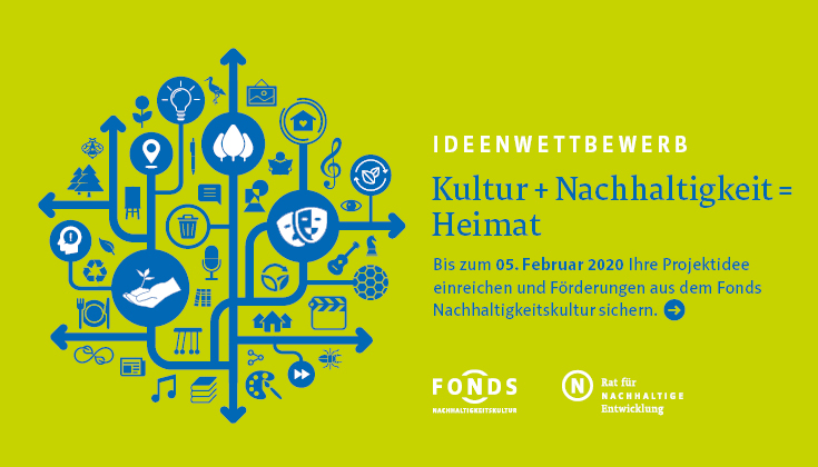 """Hauptmotiv des Ideenwettbewerbs """"Kultur+Nachhaltigkeit=Heimat"""""""