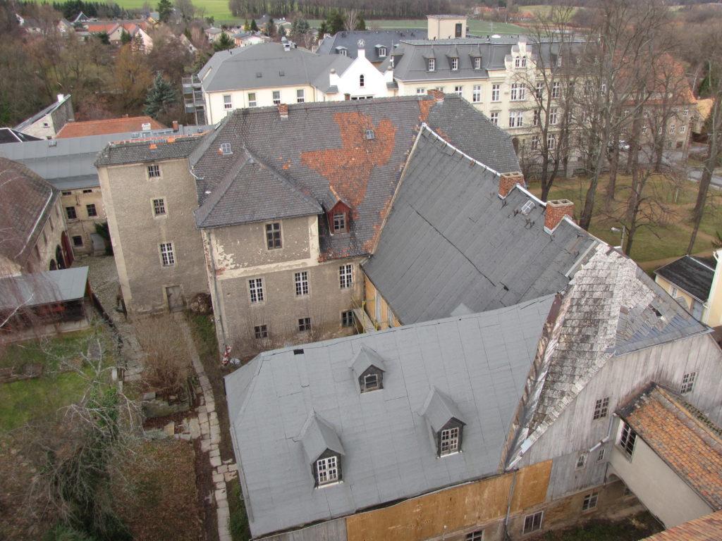 Dachlandschaft der Schwesternhäuser