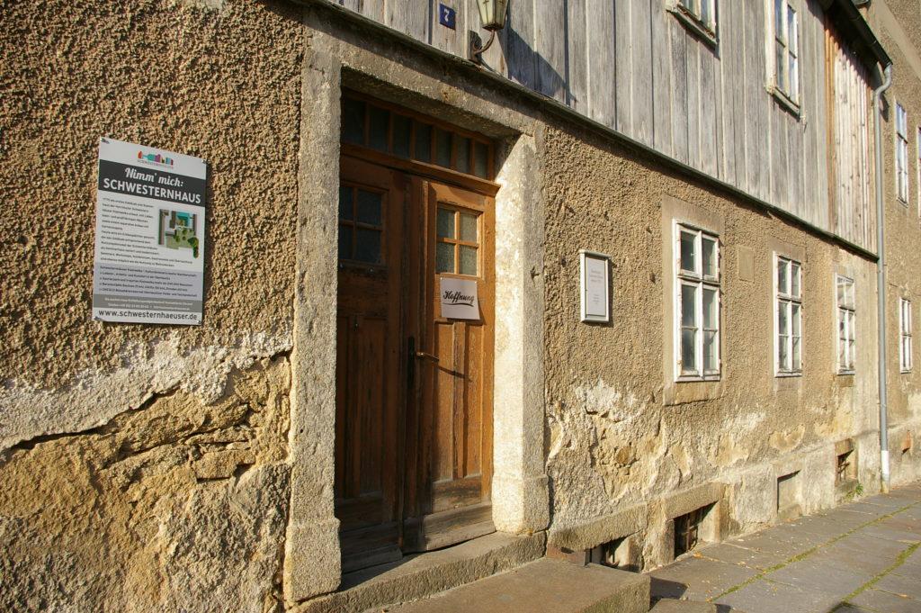 Eingangsportal 1. Schwesternhaus